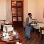 breakfast room, lovely ladies that serve you breakfast