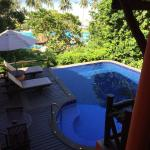 Private ocean view pool in our villa