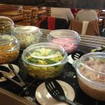 Our salads change day to day
