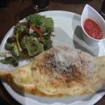 Chicken, Goats Cheese & Vegetable Calzone