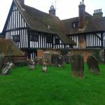 The Star & Eagle Hotel from the Goudhurst Churchyard.