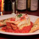 Our house-made lasagne