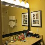 Große Spiegel im Bad