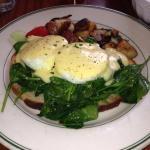 Yummy eggs florentine