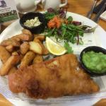 Fish Friday special for two £14. Great value.