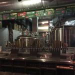 brewery behind bar