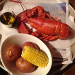 Wicked Good Lobster, potatoes and corn