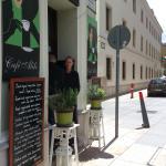 Budapest - Cafe Alibi - entrance