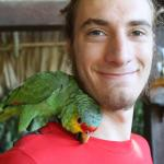 My and my new Parrot friend, Chulo