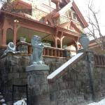 The Molly Brown house from the sidewalk