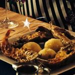 Grilled Lobster with Garlic Butter Saice