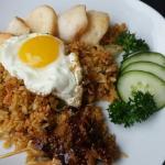 My Nasi goreng special!