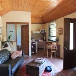 Inside Goldsmith's cottage