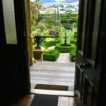 View of the pleached limes and stunning gardens that await you