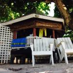 the fale on the beach