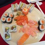 Can't get more DEVINE or Fresh sushi anywhere else!! Absolutely fabulous!!!
