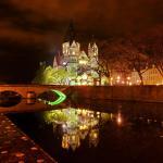 Le Temple Neuf de nuit