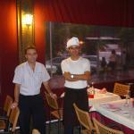 Die Besitzer, Juan (links) und Manolo (rechts)