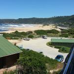 View of Beach from nearby Salina's Beach Restaurant