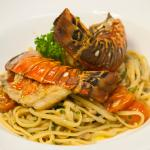 Our pasta Linguine with fresh lobster