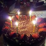 Birthday cake provided by Hangar58