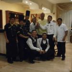 personal del restaurante el Jardín