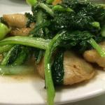Steamed Fish with Choy Sum