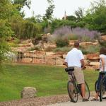 Ride the Katy Trail or to nearby wineries