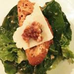 Classic Caesar Salad (shaved parmesan, garlic croutons and tapenade)