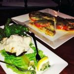 Crab Imperial Stuffed Portobello with Pizza Margherita