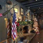 Cracker Barrell - all decked out for Christmas 2014.