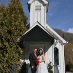 Another happy couple at Miss Caroline's!