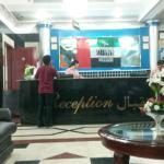 At lobby of Rafee Hotel, Dubai