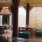 The hotel's indoor restaurant, Dagley