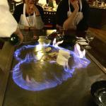 flambierter Nachtisch