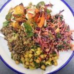 Salad sharing platter