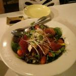 My favourite sashimi salad, best value ever! So delicious with Jap dressing!