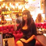 Donna Africa dining at Jamie's Italian Restaurant Norwich