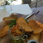 Antipasto lunch