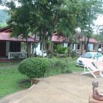 The resort's area