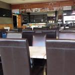 Inside Cafe Regal