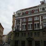fachada del edificio de los apartamentos