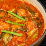 Prawns in Hot Garlic Sauce