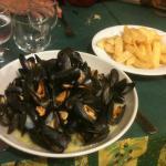 Moules marinières + frites