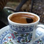 aromatic turkish coffee