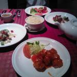 A selection of the many main course dishes we enjoyed