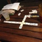 Not much to do after the sun goes down. Bring dominoes and a drink!