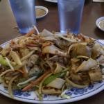 Char siu chow fun at Leung's