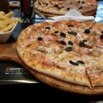 Really nice chicken pizza