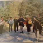 sortie  avec des amies au lac de gaube